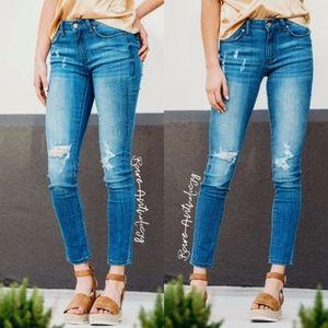 Denim - JOWEL Distressed Skinny jeans